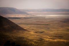Malowniczy widok Ngorongoro park narodowy obraz royalty free