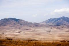Malowniczy widok Ngorongoro park narodowy zdjęcia stock
