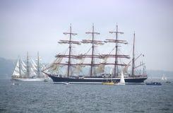 Malowniczy wysocy statki Obraz Royalty Free
