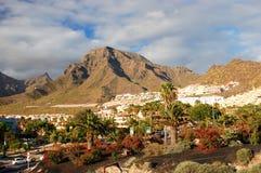 Malowniczy znakomity krajobraz piękni kurortów lasy Americas na Tenerife, wyspy kanaryjska, Spain fotografia stock
