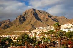 Malowniczy znakomity krajobraz piękni kurortów lasy Americas na Tenerife, wyspy kanaryjska, Spain zdjęcia stock