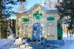 Maloyaroslavets, Russia - February 2017: Chapel-Museum stock photography