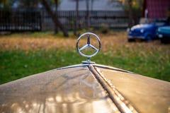 Maloyaroslavets, Russie - octobre 2018 : Mercedes 170, namepla photo libre de droits
