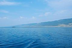 Maloye more strait. Lake Baikal, Siberia, Russia Royalty Free Stock Photo