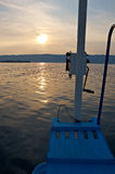 Maloye more strait. Olkhon island, lake Baikal, Siberia, Russia Royalty Free Stock Photos