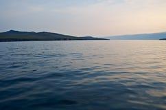Maloye more strait. Olkhon island, lake Baikal, Siberia, Russia Royalty Free Stock Photography