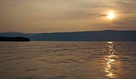 Maloye more strait. Olkhon island, lake Baikal, Siberia, Russia Stock Photography