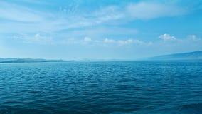 Maloye more strait. Olkhon island, lake Baikal, Siberia, Russia Stock Image