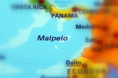 Malpelo, Colombia -  America. Malpelo, a island in the East Pacific Ocean west of the Colombian mainland Stock Photo
