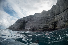 Malpelo Island Colombia Royalty Free Stock Photography