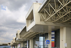 Malpensa Airport in Milan. Lombardy. Italy.  Royalty Free Stock Image