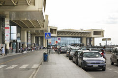 Malpensa Airport in Milan. Lombardy. Italy.  Royalty Free Stock Images
