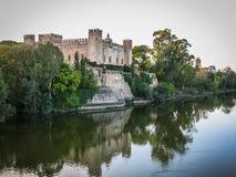 Malpica del Tajo, Toledo, Spain. Image of a castle at Malpica del Tajo, Toledo, Spain Stock Images
