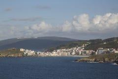 Malpica; Fisterra; Costa de la Muerte; Galicia. Spain Stock Photo