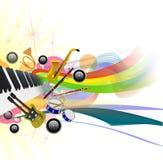 Malplaatje 1 van het Festival van de muziek Royalty-vrije Stock Afbeeldingen