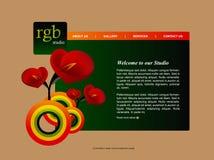 Malplaatje 2 van de website Stock Afbeelding