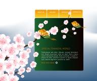 Websitemalplaatje 89 stock afbeelding