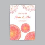 A4 Malplaatje met Rood Lotus Stock Afbeelding