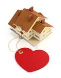 Malplaatje/Model van het huis het het Zoete Huis Stock Afbeelding