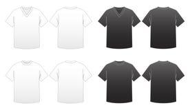 Malplaatje-Reeksen 1 van de T-shirt van mensen Stock Foto's