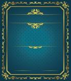 Malplaatje van certificaat Royalty-vrije Stock Afbeelding