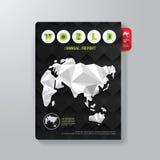 Malplaatje van de het Ontwerp Minimale Stijl van het dekkingsboek het Digitale royalty-vrije illustratie