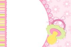 Malplaatje voor de fotoalbum van de baby Royalty-vrije Stock Fotografie