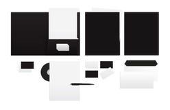 Malplaatje voor het brandmerken van identiteit Royalty-vrije Stock Foto's