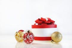 Malplaatje voor Kerstkaart Stock Foto