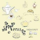 Malplaatje voor menu Royalty-vrije Stock Foto