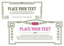 Malplaatje voor zaken, envelop, uitnodigingen Stock Foto's
