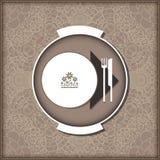Malplaatjemenu voor restaurant, koffie, bar Stock Afbeeldingen