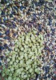 Malt and barley for craft beer manufacturing stock photos