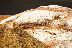 Malt bread handmade Stock Photo