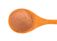 Malt extract in wood spoon Stock Image