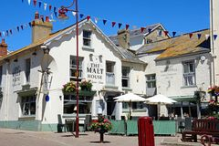 The Malt House Pub, Seaton. Royalty Free Stock Photos