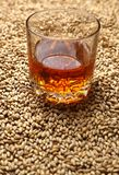 Malt and whiskey stock photography