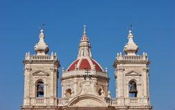 Maltański kościelny góruje Obraz Stock