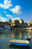 Malta. One of several seaports in Valetta, Malta royalty free stock photo