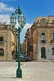 Malta. Streetview of the inner city in Valetta, Malta royalty free stock images