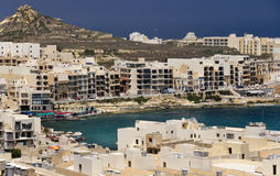 Malta. Qbaijar on the small island of Gozo. Malta Stock Photography