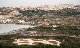 Malta. Mellieha and Ghadira Natural Reserve in Malta Stock Photo