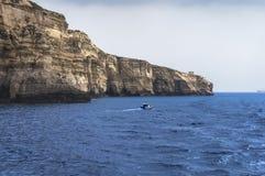 Malta, acantilados de Dingli Fotos de archivo libres de regalías