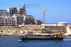 Malta-Ansicht Stockfoto