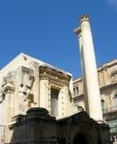 Malta architecture. Architecture of old town of Valletta, Malta Stock Photography