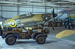 Malta Aviation Museum - Hurricane Royalty Free Stock Image