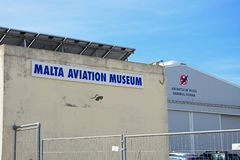 Malta Aviation Museum. Malta Aviation Museum buildings, Attard, Malta, Europe Stock Images