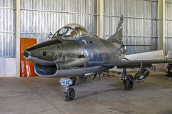 Malta Aviation Museum - Fiat G91R Stock Photos