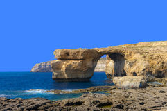 Malta - Azure Window Royalty Free Stock Images