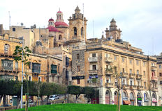 Malta, Birgu Stock Photos